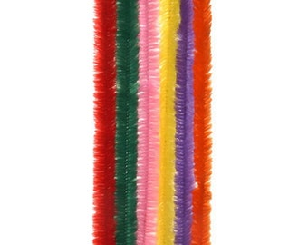 Darice 12 Piece, Chenille Stems, Multiple Colors (dar1042811)