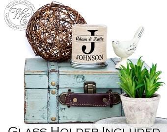 Wedding Decorations, Wedding Candle Holder, Rustic Wedding Decor, Monogrammed Wedding, Wedding Centerpiece, Candle Holder