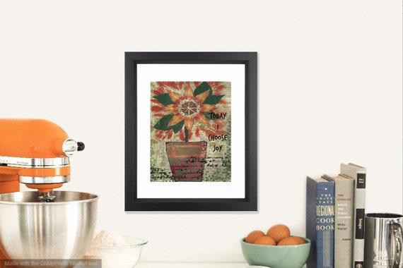 farmhouse decor kitchen wall decor motivational by