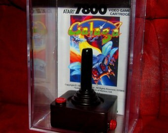 "Unique Collectible...Atari Control ""Old School ~Galaga~ Display""....Brand New ..Cool Gift idea (no glue involved)"