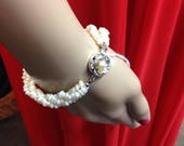 1960s Pearl Bracelet with...