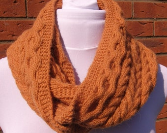 Allover Cabled  Cowl