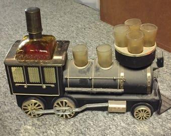 Vintage - Iron Horse Musical Locomotive Train - Scotch Decanter Set