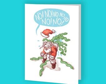 Happy No-Eel Greeting Card