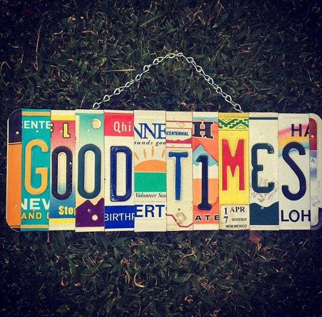 Good Times Sign. Home Bar Decor. Bar Sign. Pub Sign. Liquor Bar