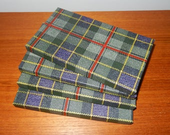 Set of 4 Vintage Tartan Boxes from Ogilvys Department Store in Canada