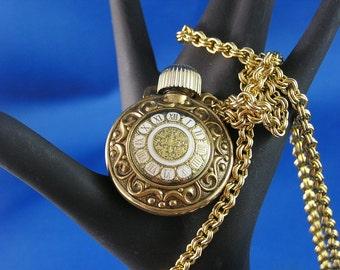Avon Golden Moments Perfume Necklace