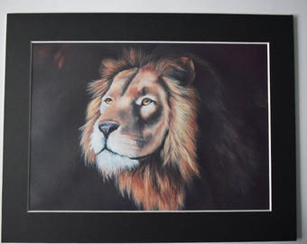 "Fine Art Print of ""Liontios"" Oil Painting"