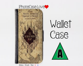 Harry Potter Galaxy S6 case - Harry Potter Galaxy S6 wallet case - Galaxy S6 case - Galaxy S6 wallet case