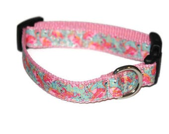 Lilly Inspired Peel and Eat **Small Dog Collar**