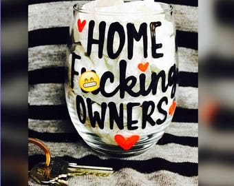 Mature- Mother Fu*king Home Owner- Home Owner Gift- New Home- Real Estate Gift- House Warming Gift- Hello new home- Home owner