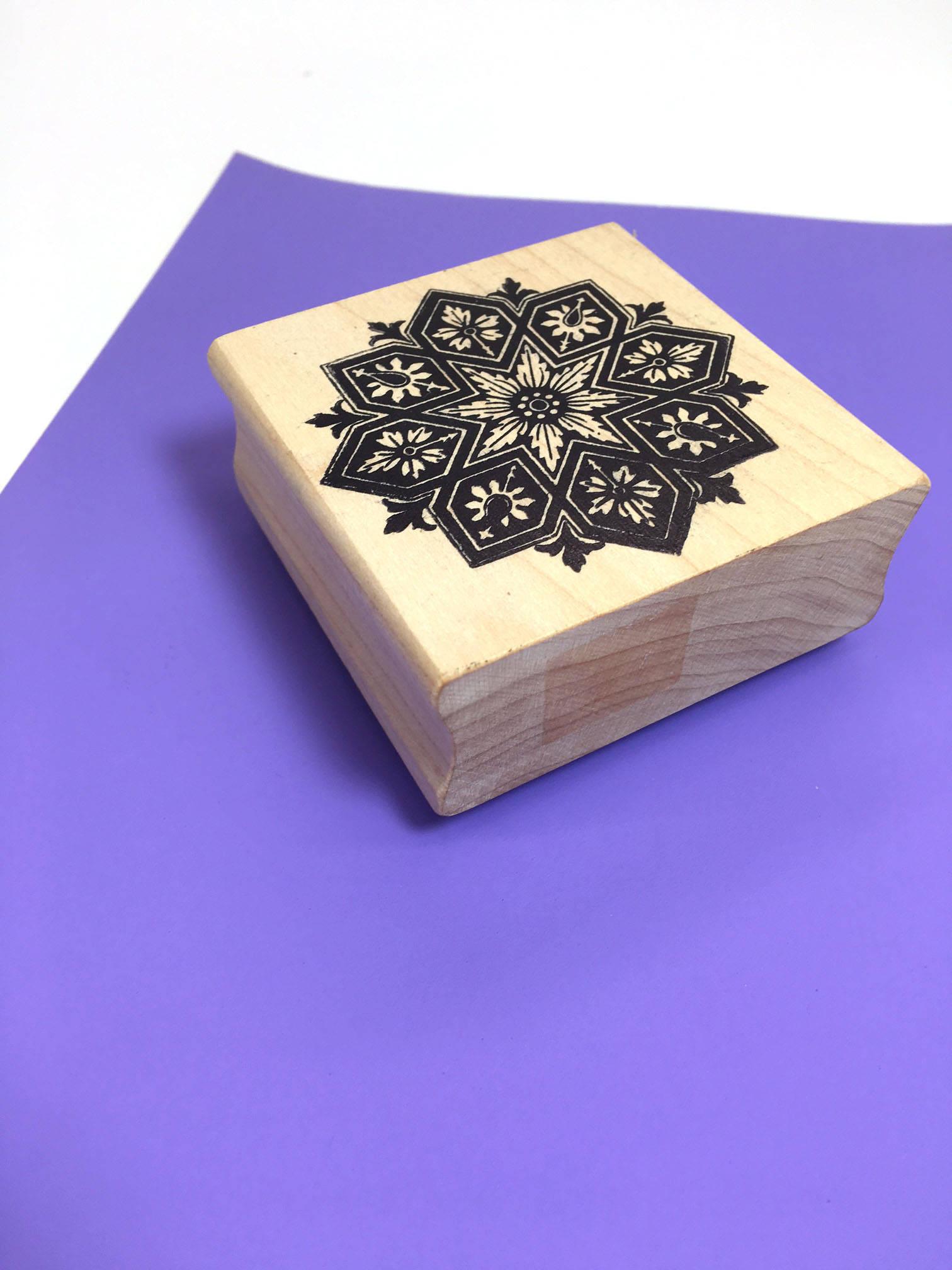 Rubber stamp craft supplies -  8 00