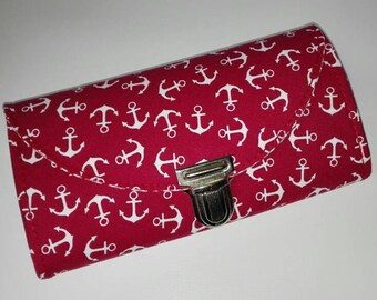 Purses 'Anchor' - Red