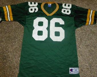 Vtg Antonio Freeman Green Bay Packers NFL Champion Jersey Sz Men's 40 M