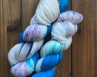 Forever in Blue Jeans, Superwash merino, worsted weight