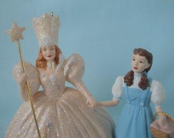 Wizard of Oz Dorothy and Glinda, The Good Witch, Hallmark Ornament