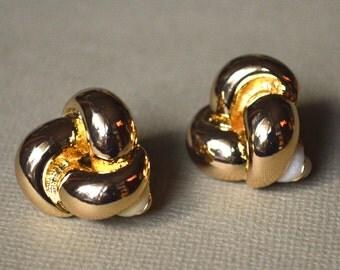 Bow clips earrings