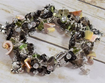 Stormy Sea Jangle Bracelet