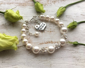 Mother-of-the-Bride gift Mother of the Bride Bracelet Mother-of-the-Groom Gift Wedding Gift for Mom Mother-in-Law Gift from Bride from Groom