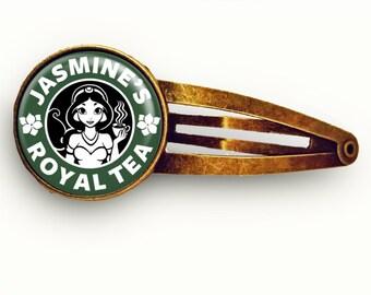 Jasmine Starbucks Hair Clip