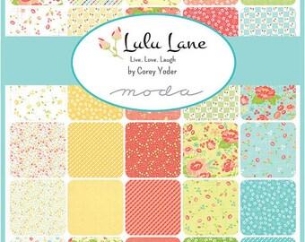 Lulu Lane Fat Eighth Bundle by Corey Yoder for Moda Fabrics