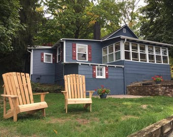 Adirondack Chair CNC Plans