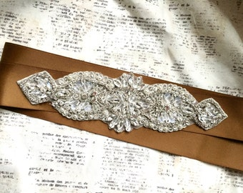 Gold Sash, Bridal Belt Gold, Gold Wedding Sash, Wedding Sashes and Belts, Gold Sash Belt, Bridal Sash Gold, Bridal Sash, Wedding Sash