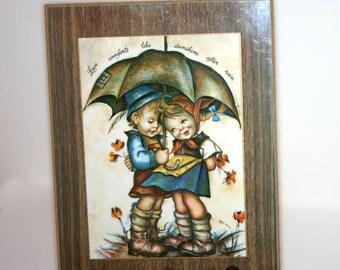 Vintage Hummel-esque Love Picture