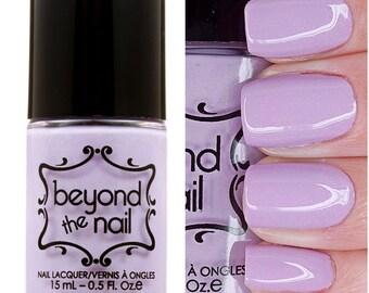 Flowing Unicorn Mane - Subtle Holographic Purple Creme Nail Polish