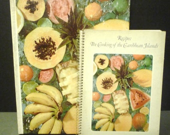 Time Life Foods of the World Cooking of the Caribbean Islands 2 cookbook set
