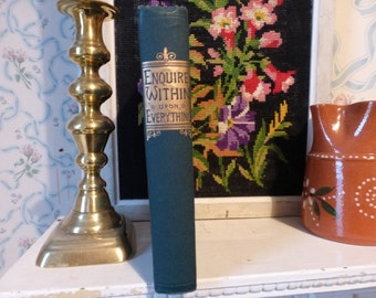 Enquire Within upon Everything book 79th ed 1889 London
