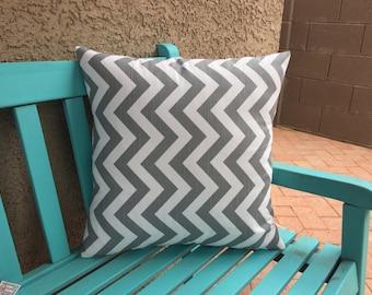 Decorative  Pillow Coverrs - Grey 18x18 Accent Pillow Cover - 18x18 Pillow Cases - Decorative Covers - Pillow Covers
