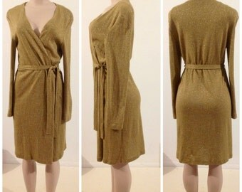 Dani Max Long Cardigan Dress Sweater