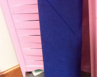 no. 1011 Royal blue Cool Weave Fabric by the Yard