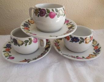 Mugs Porcelaine De Paris Decor Les Quatre Laisons