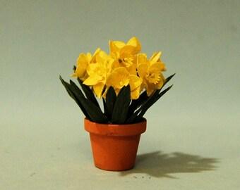1 inch scale miniature-Daffodil