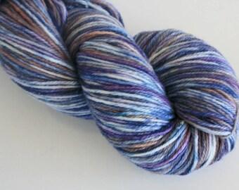100g Hand Dyed Yarn - 8ply / DK Superwash Merino - OOAK