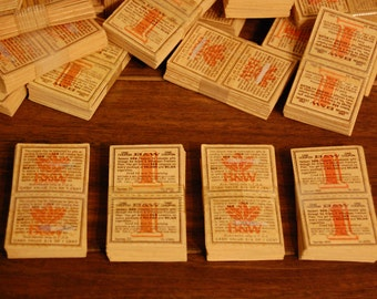 Vintage Cigarette Coupons, cigarette trading coupons, vintage cigarette trading stamps, vintage tobacciana collectible