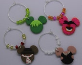 The Muppets. Disney Inspired Wine Charms