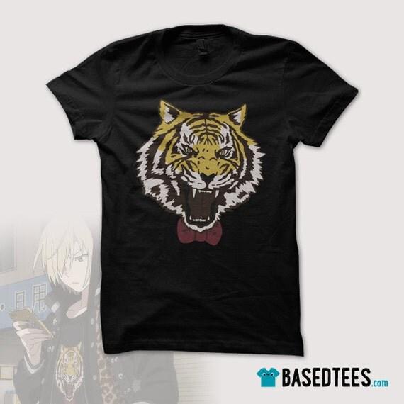 YURI ON ICE / Yuri Plisetsky / Tiger with bowtie tshirt