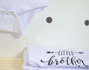 Little Brother baby onesie