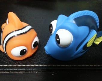 Dory and Nemo Set, Hippo Set, Crab Set, Sugar Glider Toys