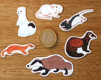Small Animals Sticker Pack
