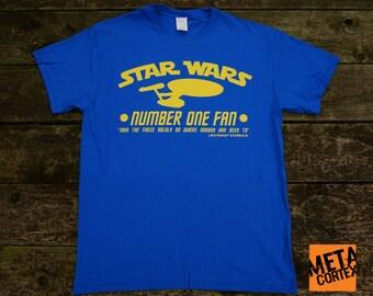 Star Wars Trek Galactica - Number One Fan T-shirt