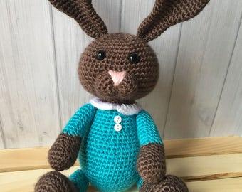 Bunny Plush Toy - Stuffed Animal - Easter Basket Stuffers - Stuffed Toy - Toddler Toy - Easter Gift - Easter Bunny
