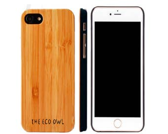 IPhone 6 Plus Case -  Bamboo Wood case for iPhone 6+ - real wood iPhone case