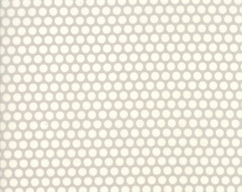 Basics - Bliss Dot Grey by Bonnie and Camille for Moda, 1/2 yard, 55023 34