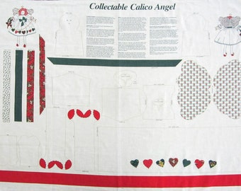 Collectable Calico Angel Fabric Panel