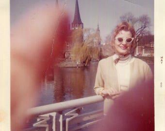Vintage Color Photo..Sticky Fingers, 1960's Original Found Photo, Kodak Paper Snapshot
