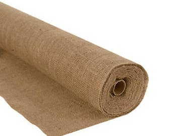 """10 Yards Of 60"""" Inch Wide Burlap Roll"""